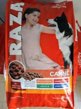 RAZA 21 kgr Carne $1349,99