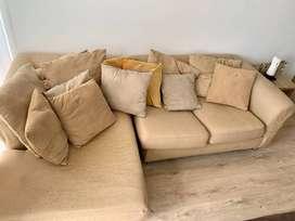 Sofa/Sillon en L Modular - Para retapizar