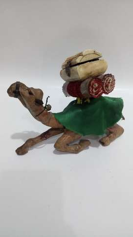 Camello Antiguo Carton Cofre Hueso