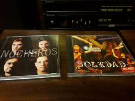 CDS Originales. Impecable estado