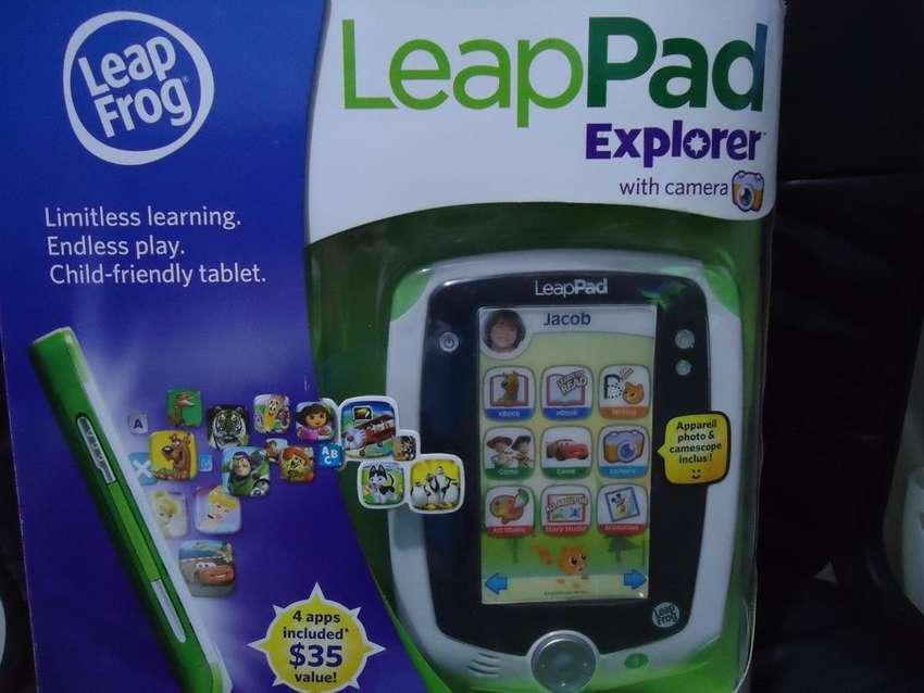 LeapPad Explorer 1- La tableta de aprendizaje personalizada solo para niños 0