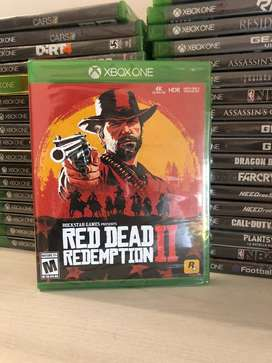 Red Dead Redemption 2 Xbox One Juego Fisico Original Nuevo