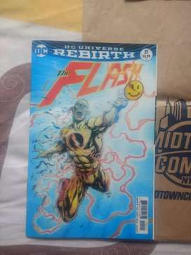 Cómic Rebirth Flash #22 lenticular