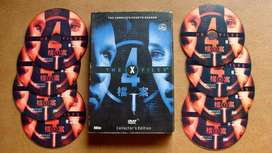Los Expedientes X Cuarta Temporada completa en 8 DVDs
