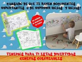 Rollos infantiles para colorear para tus hijos