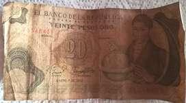 Billete de colección