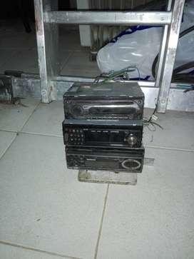 Vendo 3 estéreo usados para repuestos vendo