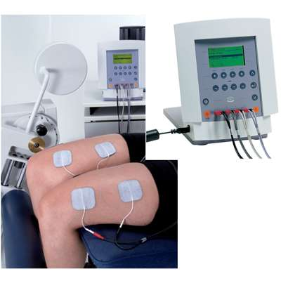 Electroestimulador 4 canales profesional