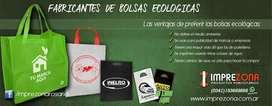 Bolsas ecológicas con tu logo - Publicita tu negocio