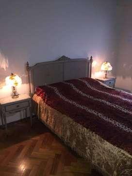 Juego De Dormitorio Luis Xvi Mesas De Luz Dresuar Y Espejo