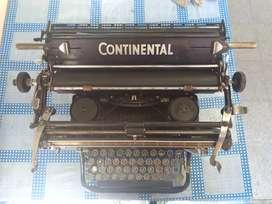 Maquina de escribir Continental