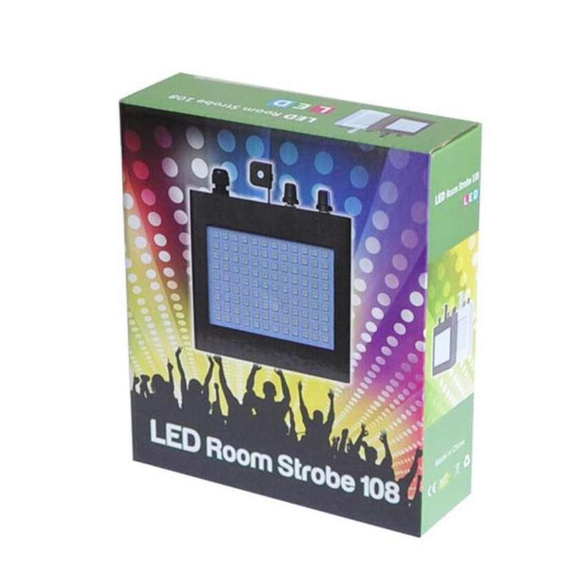 Led. Blanca Room Strobe 108 Ritmicas 0
