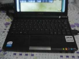 Netbook Asus Eee Pc 900 C/cargador Todo Original Impecable!!