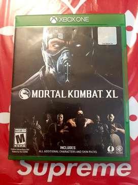 Mortal Kombat XL ( edición definitiva) juego Xbox one.