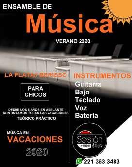 Música e instrumento, Guitarra/teclado/Bajo/Canto/Bateria