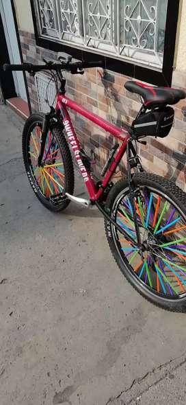 Bicicleta bronco rin 26