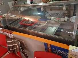 Exhibidor tipo buffet