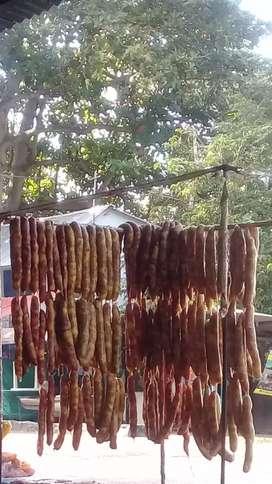 Chorizos de cerdo paisas buritaca