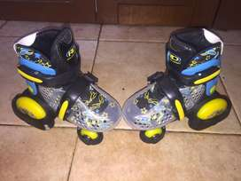 Patines roller derby talla 28-32 extendibles