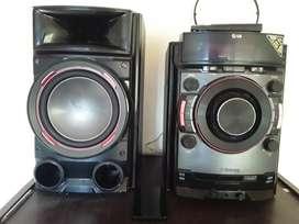 Vendo equipo de sonido LG