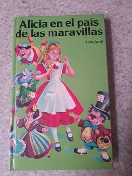 Libro Alicia en el País de las Maravillas de Lewis Carrol