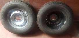 Vendo 2 ruedas completa ok ford ranger llanta chapa cubierta pirellihapa