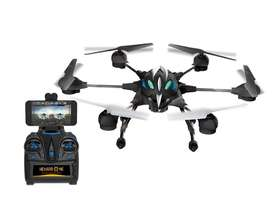 Drone Hexadrone 6 Helices Con Camara Wifi