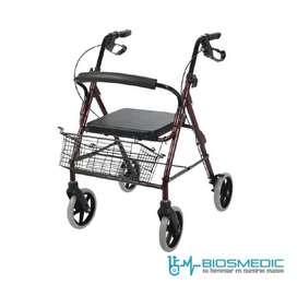 Caminador Ortopédico Plegable Con Asiento y Frenos  Nuevo
