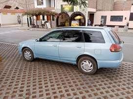 Se vende Nissan Wingroad 2001. Gasolina&GLP. Transmisión Manual