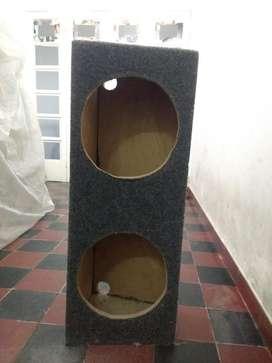 Caja Acustica, Doble 11 Pulgadas
