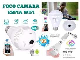 Foco Camara IP Wifi