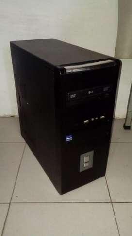 Cpu Computadora Pentium Dualcore Dvd Wifi