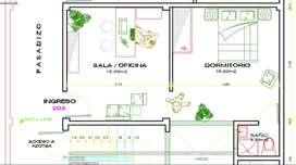 Oficina / consultorio en el centro de Chimbote