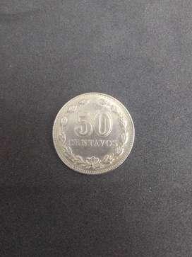 Moneda de 50 centavos 1941