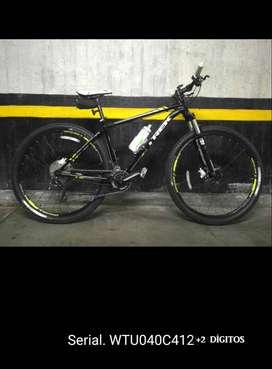 RobHur Bici Cicla Mtb Todoterreno OffRoad Trek Xcaliber9 DeoreXT Sram7 29er