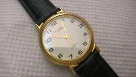 Reloj Richard Marcell Dorado Quartz Nuevo Elegante