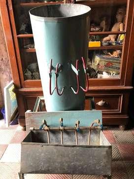Llenadora de Liquidos Artesanal de Laton