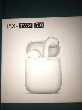 Auriculares i8X- TWS 5.0