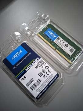 Memoria RAM 8gb SODIMM DDR4 1.2V para portatil