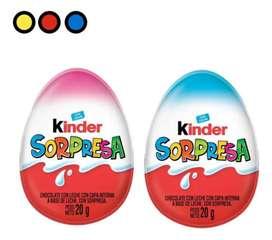 Huevo Pascua Kinder Sorpresa