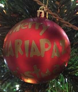 Bolas Navidad Personalizadas.