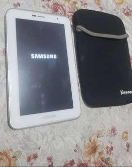 Samsung tab 2 celular 3g libre para cualquier operador. 8gb mas cable y cargador