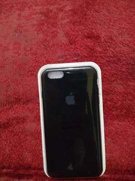 Funda iphone 6 plus negro silicone case orig