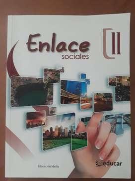 Libro Enlace 11 Ed. Educar