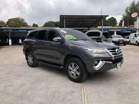 TOYOTA FORTUNER AÑO 2018 MOTOR 3.0TDI MECÁNICA 4X4 FULL EQUIPO, 3 FILAS