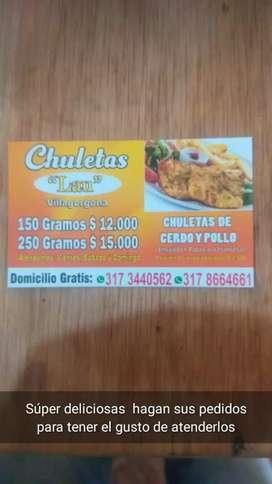 """Chuletas"""" lau"""" en villagaorgona"""