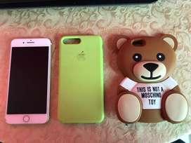 Celular Iphone 7 plus dorado 32gb