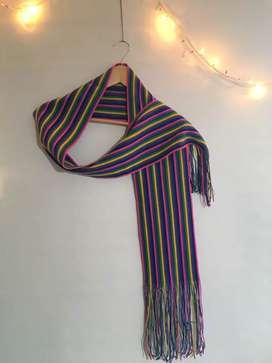 Bufanda rayada colores