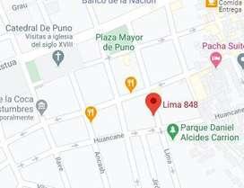 Alquilo inmueble en Jr. Lima