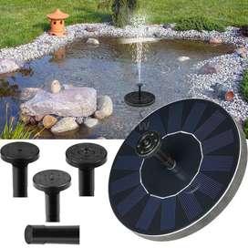 Fuente solar de agua para jardín